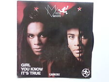 45 tours MILLI VANILLI Girl you know it's true , magic touch 14.511