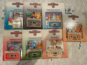 Worlds of Wonder Teddy Ruxpin 6 Books 6 Tapes