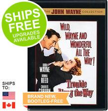 Trouble Along the Way (DVD, 2007) NEW, John Wayne, Donna Reed, Coburn
