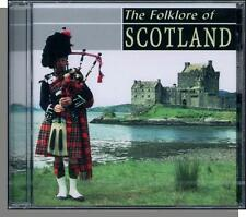 The Folklore of Scotland - Traditional Music - New 1999, 17 Song, 24 Bit CD!