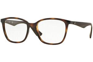 New Authentic Ray Ban RB 7066 5577 Havana Eyeglasses 54-17-145