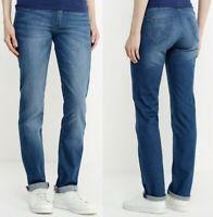 Wrangler Damen Jeanshose Drew Slim-Straight Blau (Blue Marine) W28 - W31
