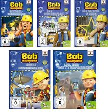 5 DVDs * BOB DER BAUMEISTER - DVD 6 - 10 IM SET - Toggolino # NEU OVP =