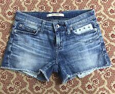 Big Star - Women's / Juniors Denim Stretch Jean Shorts - Tag Size 24
