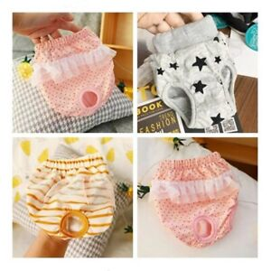 Female Dog Puppy Pet Diaper Pants Physiological Sanitary Panty Underwear Clean