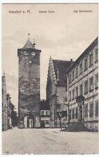 Normalformat Ansichtskarten vor 1914 aus Bayern mit dem Thema Turm & Wasserturm