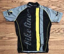 Kalas Bike Jersey Bike Line Full Zip Yellow Grey Light Weight