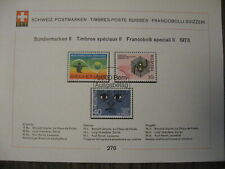 Switzerland  Special Stamps! 9 pieces, 1st Day Issue,  1973 complete year.