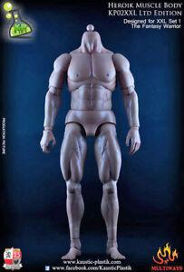 Kaustic Plastik 1:6 Heroik Male Muscular Body KP-02XXLA
