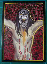 Kitchen Sink Trading Card The Crow  #6of10 1996