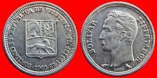 ARGENT 25 CENTIMES 1960 ARGENT VENEZUELA CARIBE-3564
