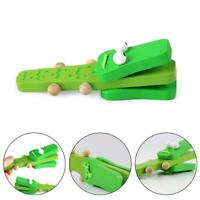 Cartoon Crocodile Castanets Children's Wooden Castanets Musical Puzzle Toys 2020