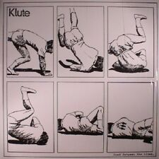 KLUTE - Read Between The Lines LP VINYL NEW - Drum And Bass - Commercial Suicide