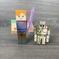 Minecraft Figure Lot Of 2