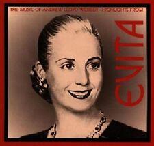 Evita-the music of Andrew Lloyd webber CD 1996