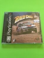 🔥 PS1 PlayStation 1 PSX GAME 💯 COMPLETE WORKING GAME 🔥RALLY CROSS 2🔥