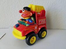 TYCO Preschool Sesame Street Ernie Pull Back Fire Truck
