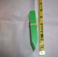 """Colored tags / labels 4"""" x 5/8"""" GREEN color 25 ct  plant markers USA MADE"""