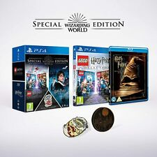 Lego Harry Potter Years 1-7 Wizarding World Special Edition Pack For PS4 (New)