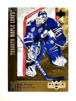 1996-97 UPPER DECK DOUBLE BLACK DIAMOND GOLD #129 FELIX POTVIN MINT MAPLE LEAFS