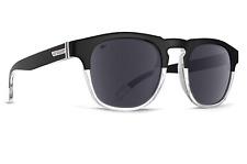 NEW Von Zipper Banner Sunglasses-JL3 Crystal Hardline Black Polarized!