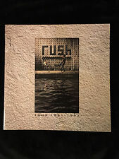 RUSH-ROLL THE BONES TOUR-CONCERT PROGRAM-GEDDY LEE-NEIL PEART-ALEX LIFESON-1991