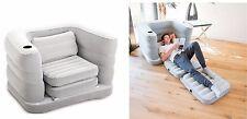 BESTWAY MULTI MAX divano singolo gonfiabile divano letto gonfiabile campeggio materasso cuscini
