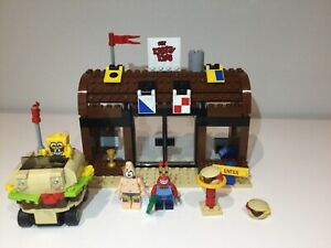 LEGO 3833 SpongeBob Krusty Krab Adventures complete with instruction