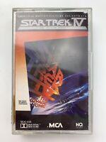 Star Trek IV Voyage Home Soundtrack (Cassette)