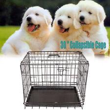 """30"""" Cage de transport pour chien cage de dressage pour animaus taille M"""