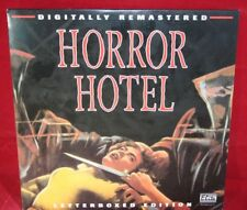 Laserdisc {q} * Horror Hotel * Patricia Jessel Dennis Lotis Christopher Lee