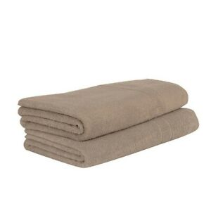 The Company Store -  Bamboo Cotton Blend Bath Towels (Bath sheet - taupe)