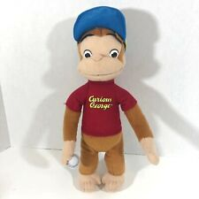Curious George Plush with Baseball