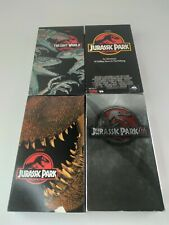 Lot of Jurassic Park Vhs: 1, The Lost World + Iii Lot of 4 Vhs Tapes Movies