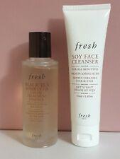 Fresh BlackTea Facial Treatment Essence 50ml+face cleanser 50 ml new