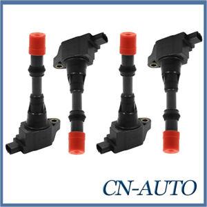 4Pcs Ignition Coils Pack for Honda Civic Hybrid LDA1 Jazz GD GE L13A1 L13Z1 1.3L