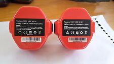 2 x ExpertPower 14.4v  1500mAh Ni-Cd Extended Battery for Makita #C1362-B