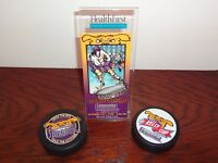 Grrreenville Grrrowl ECHL Hockey Inaugural Home Game Ticket & Pucks