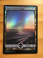 Snow-Covered Swamp Modern Horizons NM//M Pack Fresh Never Played 4 four