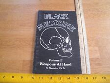 Black Medicine Dark art of Death V. II N. Mashiro book Karate 1979 martial arts