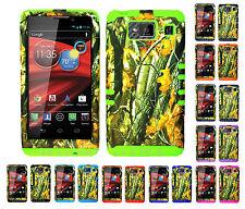KoolKase Hybrid Cover Case for Motorola Droid Razr Maxx HD XT926m CAMO MOSSY 08
