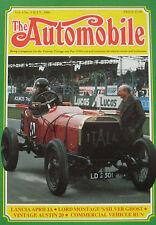 The Automobile magazine Vol.4,No.5 07/1986 featuring Lancia, Rolls Royce, Austin