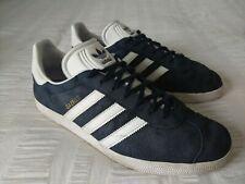 Adidas Gazelle Men's Navy Blue Suede Leather Trainers Size UK10, EU44