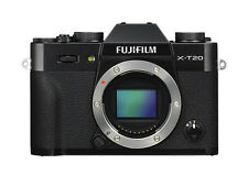 Fujifilm X-t20 Compact System Camera Body Only Black