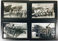 RAF WW2 LANCASTER BOMBER AEROPLANE FRAMED PHOTOGRAPHS / PRINTS