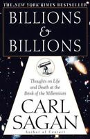 BILLIONS AND BILLIONS by Carl Sagan FREE SHIPPING paperback book life death