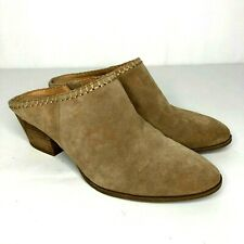 Franco Sarto Womens Slip On Booties Shoes Galleon Size 6.5 M Tan Suede