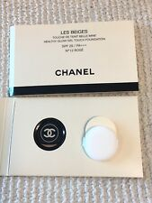 1 x CHANEL Les Beiges Healthy Glow Gel Touch Foundation Sample SPF 25 #12 Rose