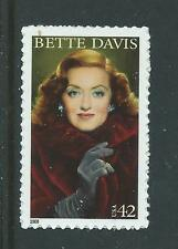 UNITED STATES 2009 BETTE DAVIS UNMOUNTED MINT, MNH.