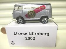 MATCHBOX 2002 NURNBERG GERMANY VW VOLKSWAGEN BUS MINT*